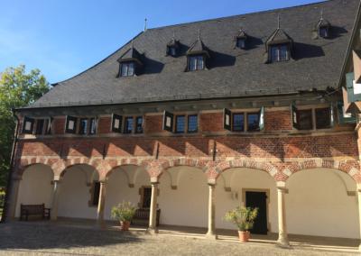 Schloss Reinbeks mediteraner Innenhof